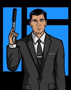Sterling Archer: is it weird that I put a cartoon in this list?  Either way, I'm okay with it.