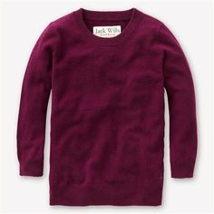 Luxurious cashmere for under $150! Gorgeous dark raspberry color.