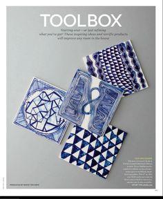 Indigo Blue and White tiles