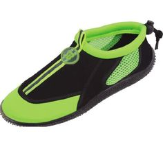S2905 Womens 4 Colors Water Shoes Aqua Socks Slip on Athletic Pool Beach Surf Yoga Dance Exercise 8 BM US Green *** Check out this great product.