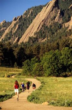 Take the kids climbing on our favorite route on the Flatirons. My first 900 ft climb!