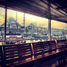 Istanbul from the ferry boats