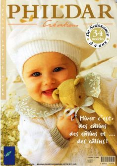 Phildar N. 286 Créations special layette hiver*