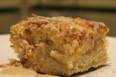 Rhubarb Cinnamon Coffee Cake with Vanilla Coconut Sauce - The Lazy Vegan BakerBloglovinEmailFacebookInstagramPinterestTwitterYouTube