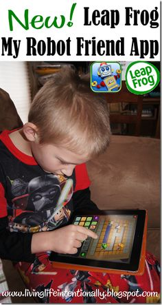 Great #educational #app for kids 1st-6th grade as they learn #math logic and programming skills! From our favorite toy company #leapfrog