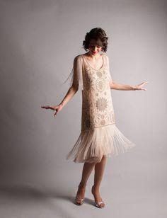 garçonne des années 1920 robe  robe Vintage des par concettascloset, $948.00