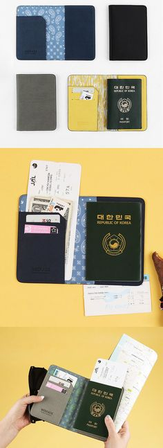 Every passport needs an anti-skimming, water resistant and stylish passport  cover!