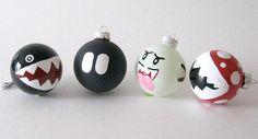 Mario Christmas Ornaments