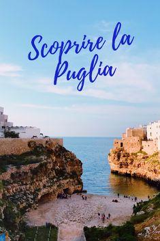 Puglia: il nostro viaggio on the road. #polignano #puglia #italy #mare #viaggi #nature Europe Holidays, Puglia Italy, Continents, Where To Go, Italy Travel, Places To See, Travel Inspiration, Travel Tips, Trekking