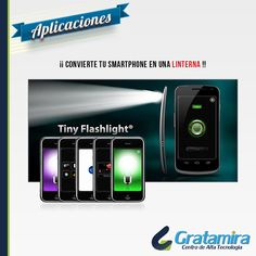 Tiny Flashlight es una aplicación de linterna increíblemente simple y, a su vez, muy útil. Podrás utilizar el flash de la cámara de tu dispositivo a modo de linterna. Descargala aquí: https://play.google.com/store/apps/details?id=com.devuni.flashlight=es_419