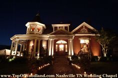 Top of Woodland Historic Inn Wedding Chapel, Nashville, TN