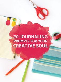 20 Journaling Prompts for Your Creative Soul - Gina Alyse Creative Journal, My Journal, Journal Pages, Creative Writing, Yoga Journal, Nature Journal, Journal Writing Prompts, Art Journals, Bullet Journals