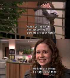 this episode and this quote makes me cry everytime I watch it. I love jim and pam <3