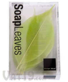 SoapLeaves  Great for guests!