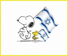 Am Israel Chai! ( I stand with Israel! Jewish Art, Jewish History, Jewish Crafts, Jerusalem Israel, Charlie Brown And Snoopy, Snoopy And Woodstock, Holy Land, Judaism, God Bless America