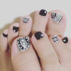 Pedicure Designs, Toe Nail Designs, Hair And Nails, My Nails, Indian Nails, Color Me Badd, Feet Nails, Dream Nails, Nail Stamping