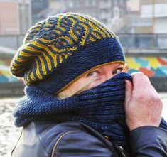 Valkyrie Hat pattern by Jennifer Shiels Toland