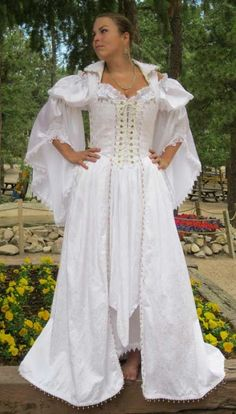 Real Pirates features Pirate wear for men and pirate wear for women. Corsets, bodices,wedding attire and costumes for Renaissance Festivals, Pirate Festivals, and special events Pirate Wedding Dress, Punk Wedding Dresses, Wedding Attire, Wedding Gowns, Wedding Hair, Dream Wedding, Medieval Wedding, Steampunk Wedding, Plus Size Wedding