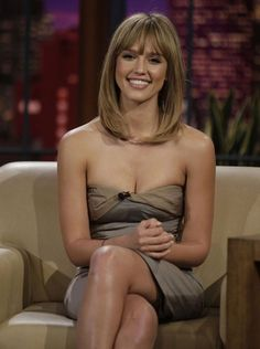Long bob with bangs. One of the best hair styles you can have.