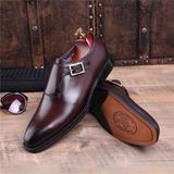 Laurent - Square Buckle Men shoes