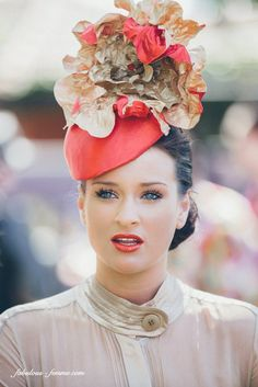 Melbourne spring racing fashion ha t Turbans, Fascinator Hats, Fascinators, Headpieces, Race Day Outfits, Spring Racing Carnival, Race Wear, Races Fashion, Fashion Hats