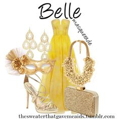 The Belle of the Ball! So elegant! #TLOTGS #Belle #Masquerade Belle Masquerade gown - Beauty and the Beast