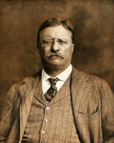 Theodore Roosevelt 1913   via: Captain Geoffrey Spaulding
