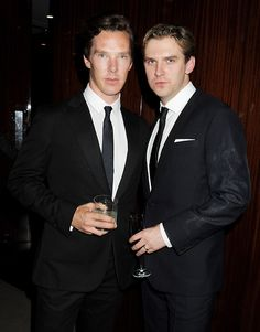 Benedictcumberbatch_danstevens_sh_2 my man and @Mary Powers Leary your man!!!