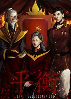 Fire Lords - Legend Of Korra: Balance by MeTaa