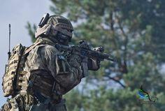 Polish SOF in training