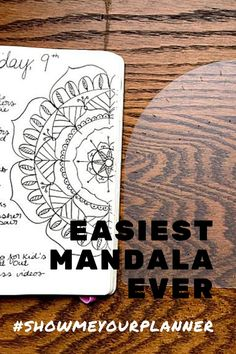 OMG, this is by far the easiest mandala stencil if you're starting out with bullet journaling! If you're a beginner, this template lets you create a beautiful habit or moodtracker in no time. Perfect gift for #bulletjournaljunkies #showmeyourplanner #carlijnsbujochoices Bullet Journal For Beginners, Bullet Journal Junkies, Planner Tips, Planner Pages, Calendar Layout, Simple Mandala, Mandala Stencils, Cool Notebooks, Journal Template