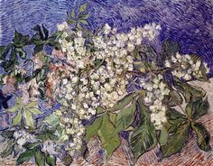 Vincent van Gogh Blossoming Chestnut Branches painting for sale, this painting is available as handmade reproduction. Shop for Vincent van Gogh Blossoming Chestnut Branches painting and frame at a discount of off. Vincent Van Gogh, Art Van, Claude Monet, Fleurs Van Gogh, Painting Prints, Painting & Drawing, Art Prints, Desenhos Van Gogh, Van Gogh Arte