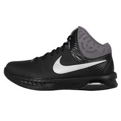 Nike Air Visi Pro VI 7 Black Grey Mens Basketball Shoes Sneakers 749167-001 #Nike #BasketballShoes