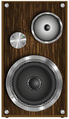 Speaker PNG Clip Art Image