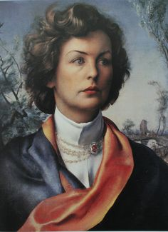 Pietro Annigoni - Deborah (youngest of the Mitford sisters), Duchess of Devonshire (1921-2015)