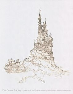 Castle Cascadium Detail by Built4ever.deviantart.com on @deviantART