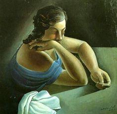 Thought, 1925, Salvador Dalí