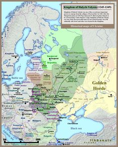 Kingdom_of_Galicia_Volhynia_Rus'_Ukraine_1245_1349.jpg (JPEG Image, 2301×2856 pixels) - Scaled (20%)