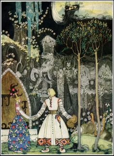 çizgili masallar: Kay Nielsen, East of the Sun and West of the Moon