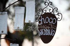 Романтичная свадьба в Италии. Originale tableau de mariage al sapore di cioccolato. | Cira Lombardo Wedding Planner