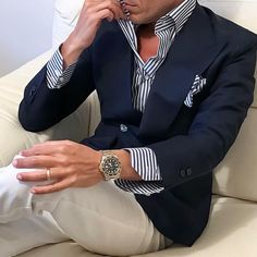 30 Awesome Gentleman Style Outfit for Men Blazer Outfits Men, Casual Outfits, Mens Fashion Suits, Mens Suits, Mode Outfits, Fashion Outfits, Blazer Fashion, Fashion Tips, Stylish Men
