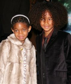 Willow and Jaden Smith, December 2008 Willow and Jaden bundle up for the premiere of The Day the Earth Stood Still.