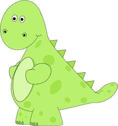 Green Dinosaur Clip Art - Green Dinosaur Image