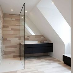 Splendid Attic bedroom air conditioning,Attic remodel near me and Attic bathroom layout. New Homes, Low Ceiling, Apartment Layout, Small Bathroom, Loft Bathroom, Bathrooms Remodel, Home, Attic Remodel, Attic Bed