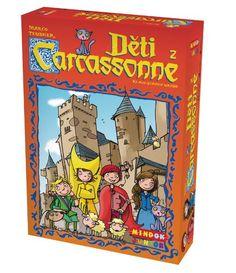 Spoločenské hry : Deti z Carcassonne, 4+