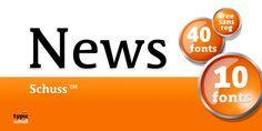 Schuss News Pro™ font download