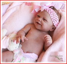 *A Romie Baby *SOLID Full SILICONE ***LENNOX***  Doll #1