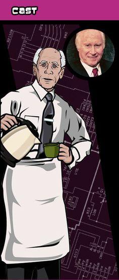 Archer funny humor voice actor