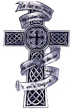 46 Celtic Cross Tattoos Designs with sizing 900 X 1405 Celtic Cross Designs For Tattoos - Cross tattoos for women are some from the hottest tattoo designs Celtic Cross Tattoo For Men, Celtic Tattoos For Men, Celtic Knot Tattoo, Cross Tattoos For Women, Tattoos For Guys, Cool Tattoos, Celtic Crosses, Tatoos, Celtic Knots