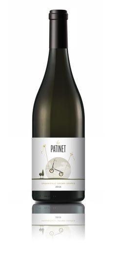 Label Design. Lo Patinet  #taninotanino #vinosmaximum #maximum